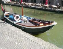 gerestaureerde boot